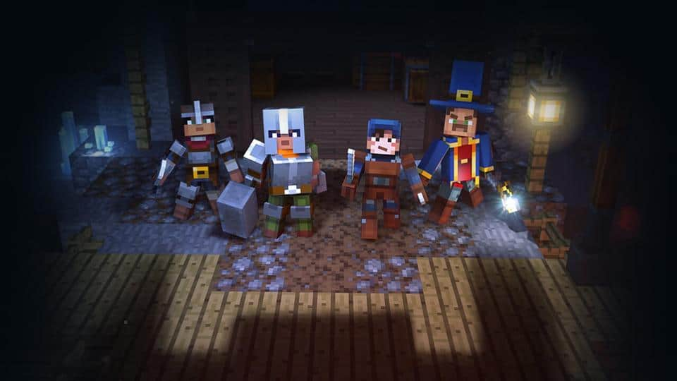 Minecraft Dungeons Is A New Action-RPG Set In The Minecraft