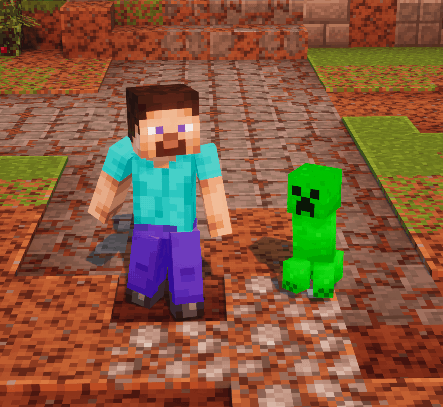 Baby Creeper - Minecraft Dungeons Mod download